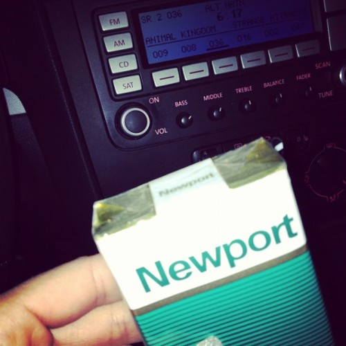 Soft packs make me feel like white trash (Taken with instagram)