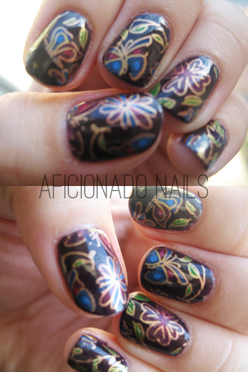 BUTTERFLY DREAMS China Glaze VIIButterfly Nail Foil