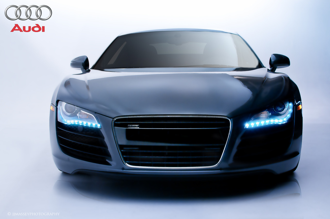 Final edit for class. Advertisement mock-up for Audi.