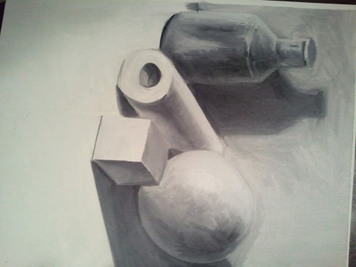 Still life for school
