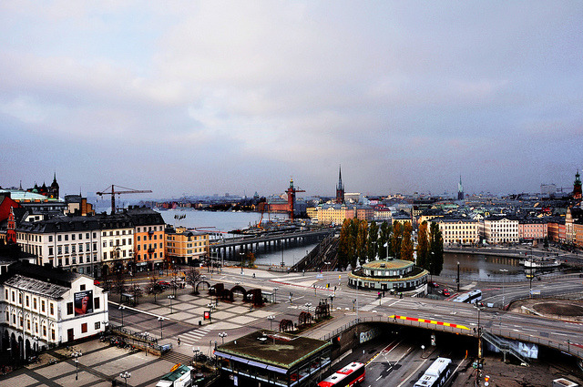| ♕ |  Waterfront of Stockholm, Sweden  | by © Ceca Cekic | via ysvoice