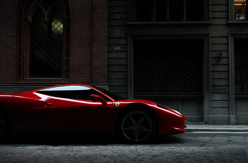 automotivated:  458 (by sjoerdtenkate.com)