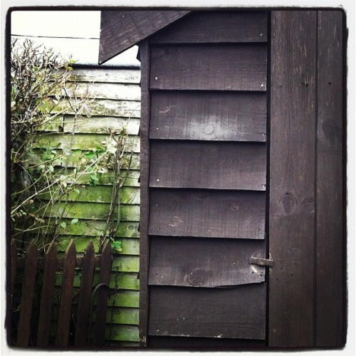 Shed #iphotography  (Taken with instagram)