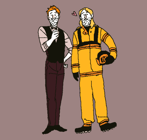 onemagpie:  bartender and firefighter or waiter and astronaut