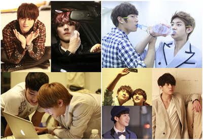 Source; PLAYB2ST Daum Cafe  [PREVIEW] Pictures found in the 120p (tentative) MINI PHOTOBOOK given to official 2nd B2UTYs who are attending the fanmeeting on 120422.  UPDATE: 120413  Number of pages in the MINI PHOTOBOOK has been changed from 120p to 170p.
