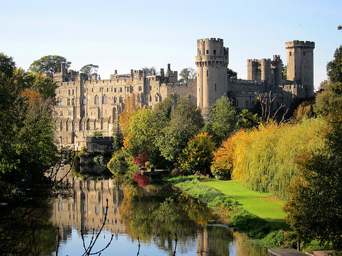 allthingseurope:  Warwick Castle, Warwick, England (by Andy_Hartley)