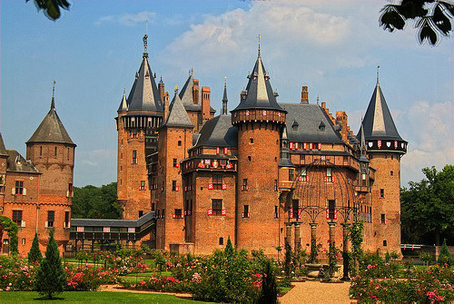 Castle De Haar, Netherlands (by EricK_1968)