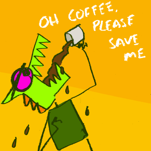 explodingdog:  Morning Coffee