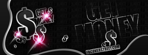 Get Money Pink Facebook Cover