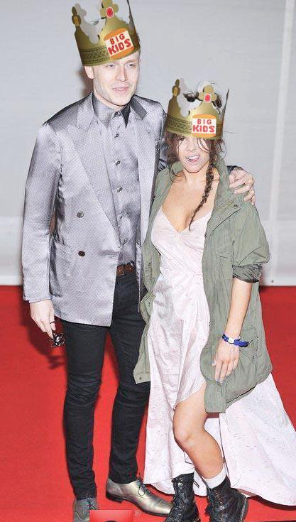 hahaha….Us at the BRITS…. so funny. VERY drunk even by this point!!!