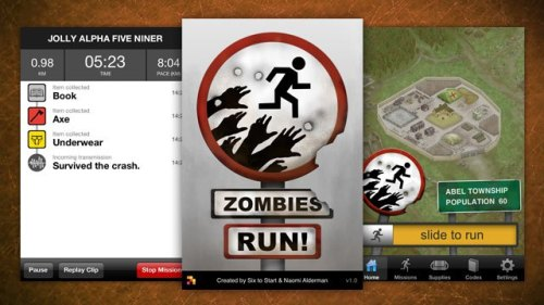 Zombies, Run! Turns Your Exercise Routine into a Game of Survival In the spirit of Jane McGonigal — here's a new game created to entertain and improve your real life.  Can't wait to try.