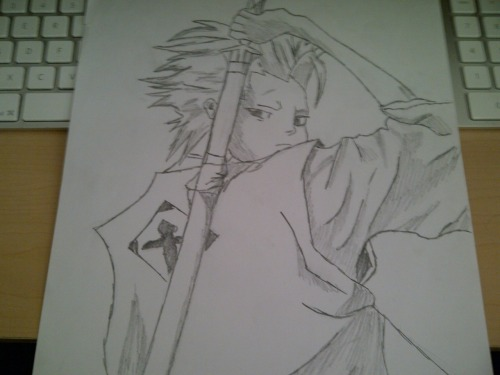 Chaizzer Art: Toshiro Hitsugaya (Bleach)