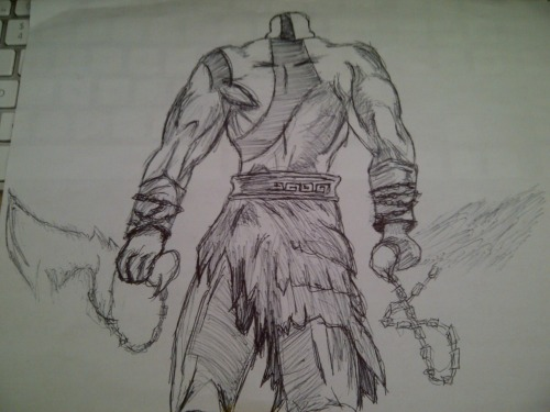 Chaizzer Art: Kratos (God Of War)
