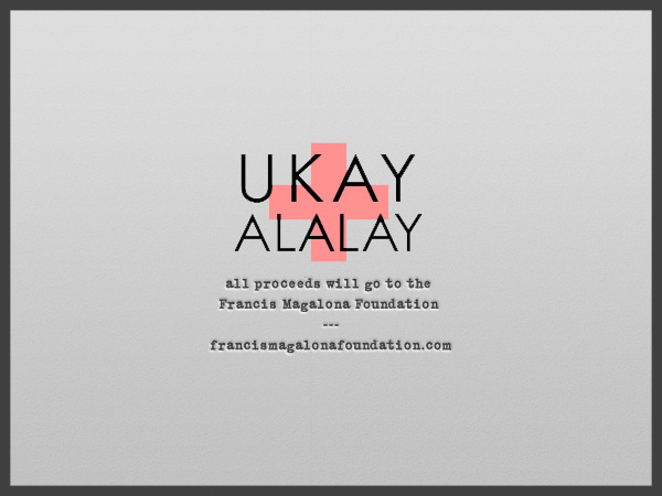 Anteroom Sessions 2 is proud to present UKAY ALALAY! Ukay Alalay is an online shop by Saab Magalona, which was initially set up in December last year to raise funds for those affected by tropical storm Sendong. Now, Ukay Alalay's push to sell pre-loved items for a cause continues, but this time, proceeds will go to the Francis Magalona Foundation and their Born To Be A Hero Values Education and Character Development Program for Public High School Students. Check out your possible finds at Ukay Alalay's website and visit the Francis Magalona Foundation website to learn more about the advocacy. Catch Saab at the Ukay Alalay booth at Anteroom Sessions 2 on March 31, 2012, 4pm-11pm at Cubao Expo and shop for a cause! See you at Anteroom!