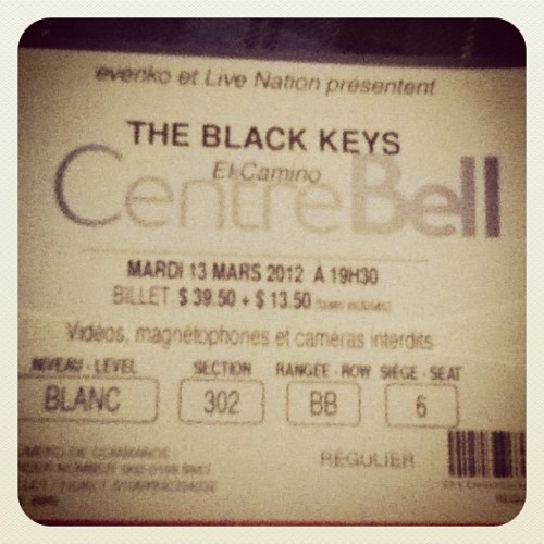 That was an amazing night, really (Pris avec instagram)