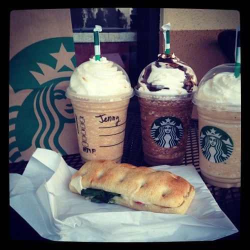 Breakfast with the best friend. :) #coffee #morning #breakfast #starbucks (Taken with instagram)