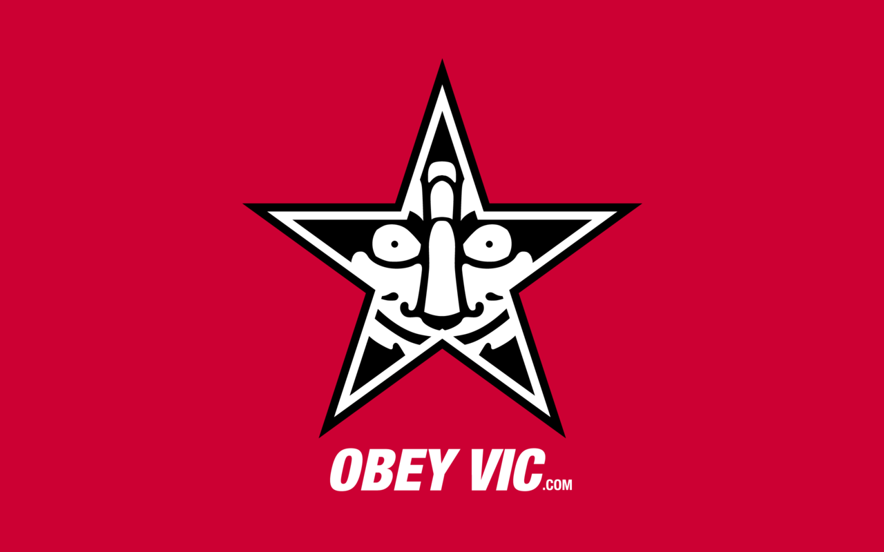 """Obey Giant"" Parody Wallpaper Download: Widescreen 