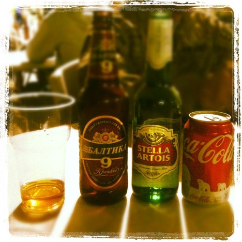 Cheers! (Taken with Instagram at Air Force Base Manas, Kyrgyzstan)