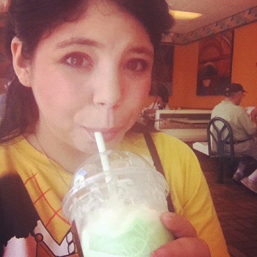 Post audition Shamrock Shake! Because I'm worth it. (Taken with Instagram at McDonald's)