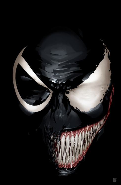 herochan:  Venom #9 Cover Created by John Tyler Christopher deviantART | Website