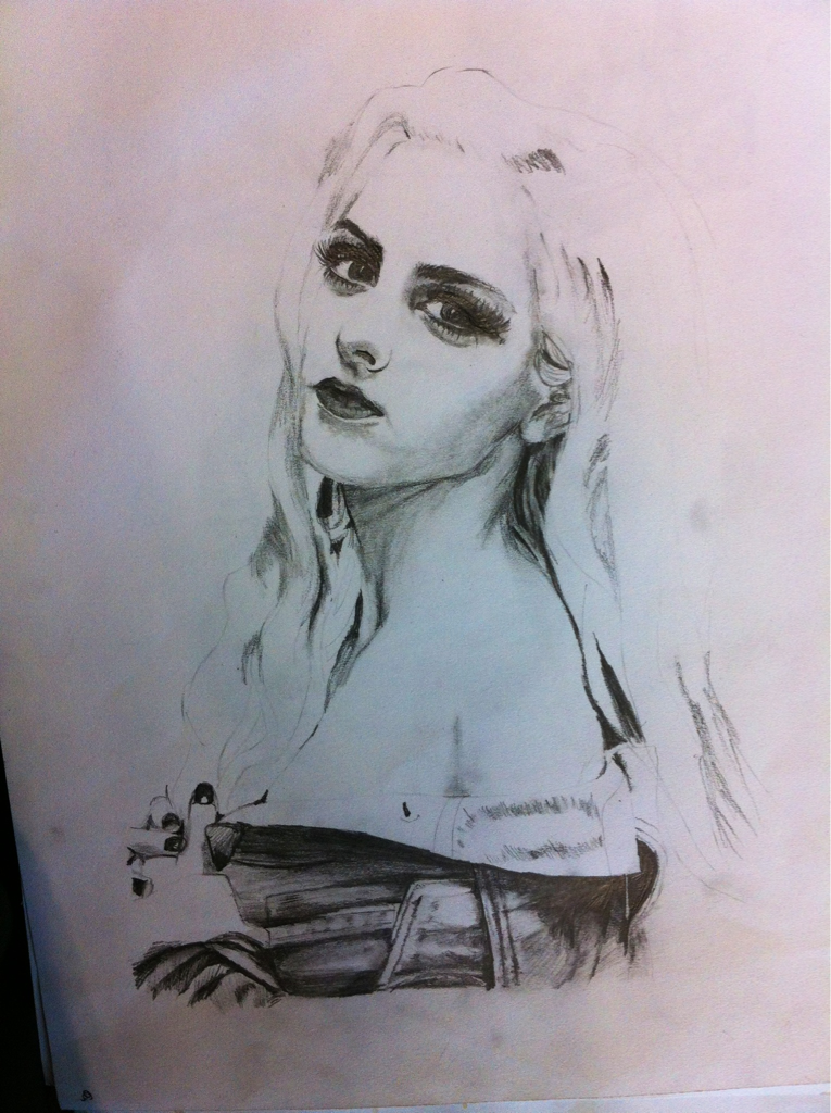 studsandpeaches:  Erika drew me for her art aw