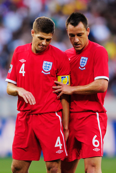 JT and Stevie Playing for England