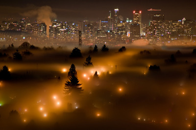 snuh: vancouver at night