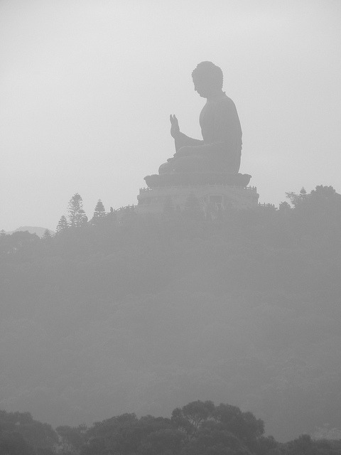 Buddha in the Mist by Carolinadoug on Flickr.