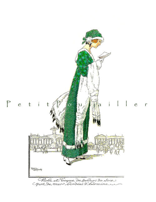 LePetitPoulailler: Le Belle Epoqué Reader of 1911 … set of stationery note flats here