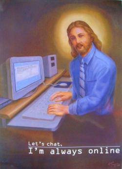 So, Jesus is an internet predator?