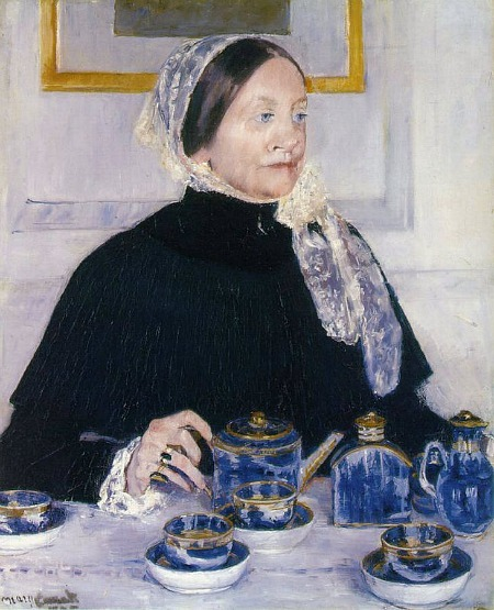 Mary Cassatt Lady at the Tea Table 1884