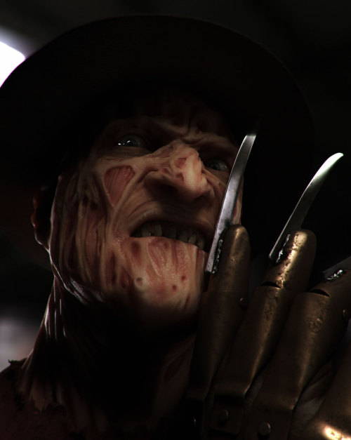 So, I created Freddy Krueger in 3D…