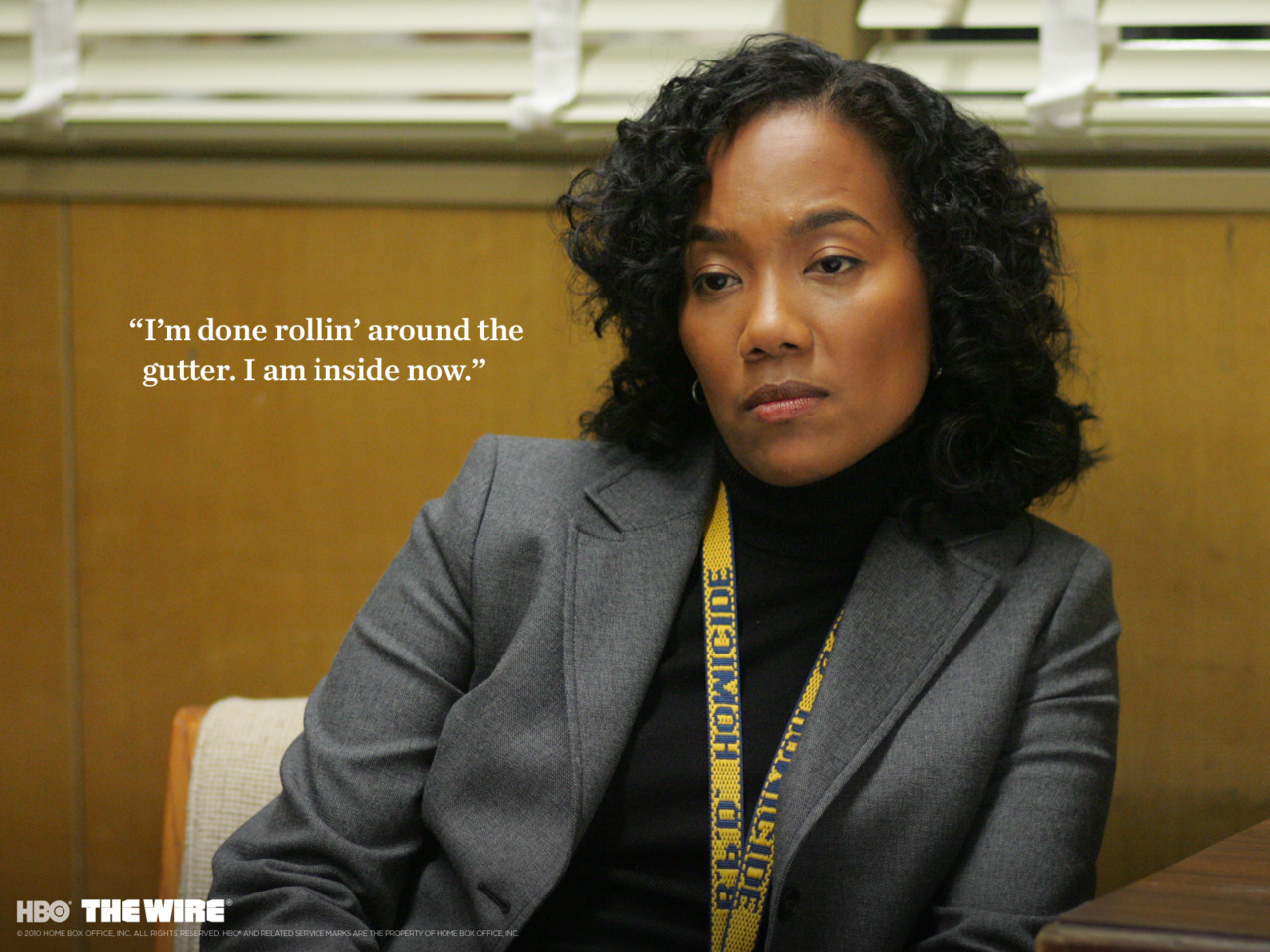 nprfreshair:  On the HBO series The Wire, Sonja Sohn played a police detective in an East Baltimore neighborhood taken over by drug gangs. After the show ended, she stayed in Baltimore and started a non-profit called ReWired For Change aimed at at-risk teenagers. Tomorrow, she'll explain why she made the switch.