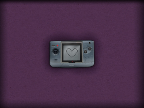 Wallpaper Wednesday SNK Neo Geo Pocket COLOR - by Christian Mellergaard Website || deviantART