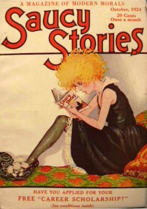 hoodoothatvoodoo:  Saucy Stories 1924