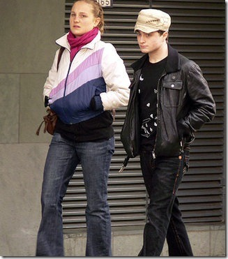 Daniel Radcliffe and girlfriend Laura O'Toole