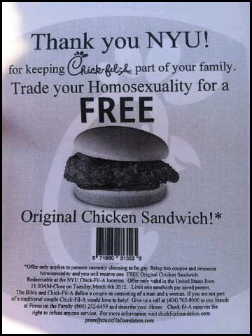 "wtfdigest:  Chick-Fil-A, this has gone too far…Follow ""WTF Digest"" - The most frequently updated WTF Tumblr wire. Enjoy!  No words for this o,o"