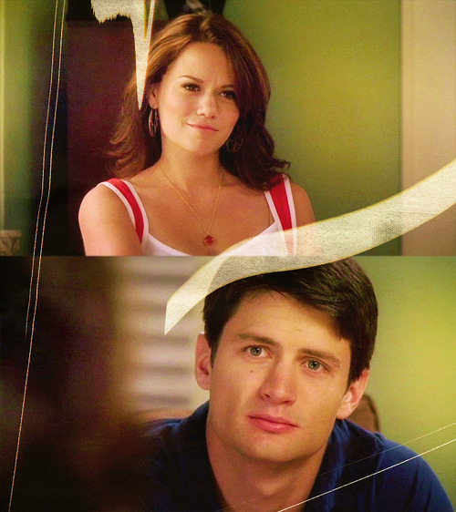 'Haley, lets promise never to be too scared to live our dreams'  'I promise'  'Me too'