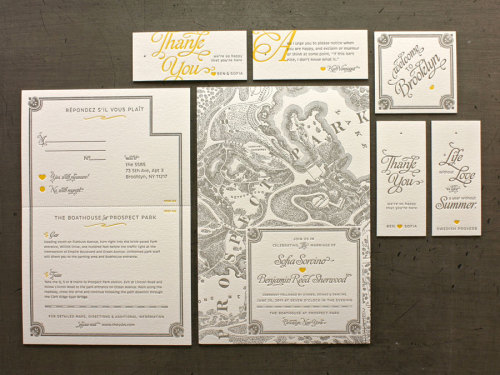 (via steevilweevil)  Beautiful wedding invites via Graphic-ExchanGE - a selection of graphic projects