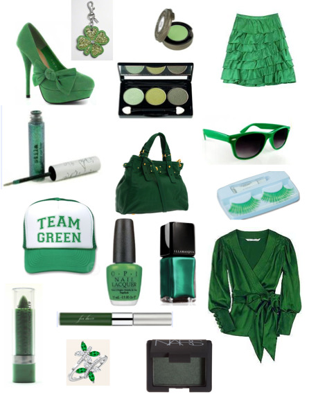 Green for St. Patrick's Day