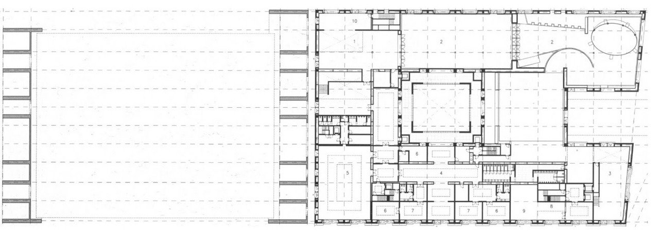 Black, White & Grey Plans [284] Lisbon | Pavilhão de Portugal | Álvaro Siza Vieira source