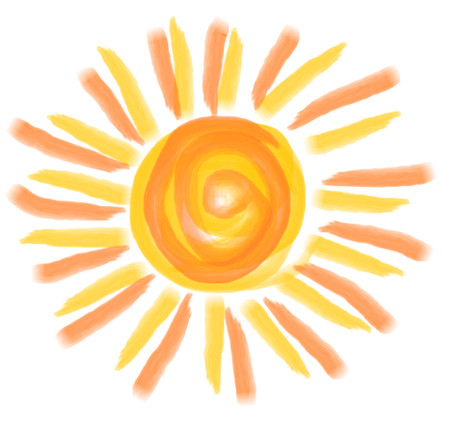 earth-ismbanners:  Orange and Yellow Sun