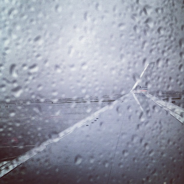 On my way to MIA. (Taken with instagram)
