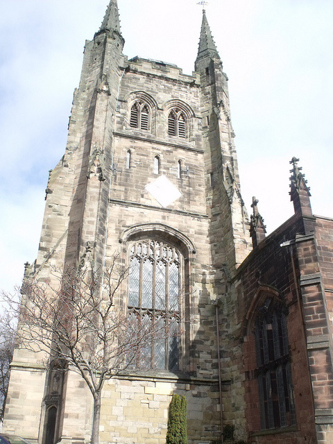 St Editha's Church - Church Street, Tamworth by ell brown on Flickr.You have to admire the forgotten art of building.