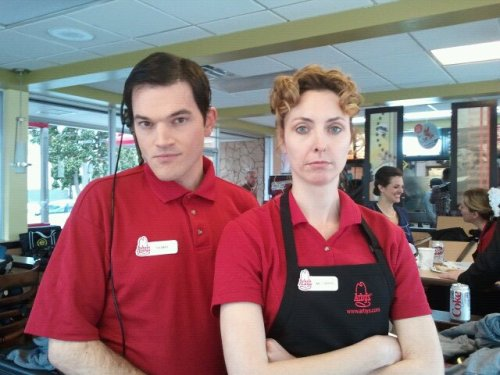 Thomas and Miss O'Brien of Downton Arby's