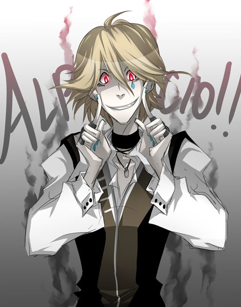 Of course, pixiv artists manage to make Alphoccio look adorbs while I can only make him creepy…