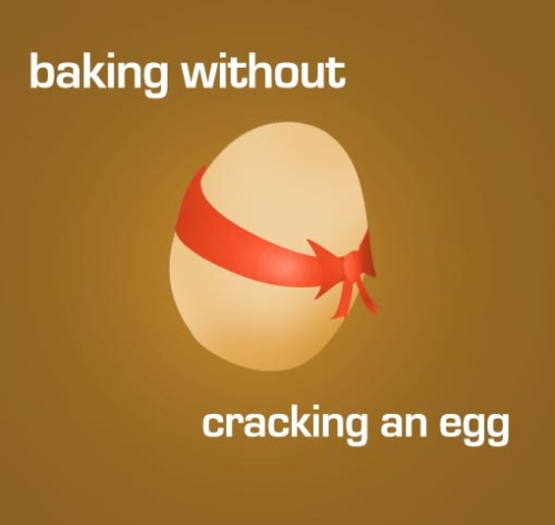 Baking without breaking eggs or your budget Going vegan doesn't mean you have to give up your favorite desserts. Chocolate cake, snickerdoodles, pumpkin pie, even pancakes, can be made vegan. Often times you only need to alter 1 or 2 ingredients to make your favorite recipes. One of which is almost always egg. And choosing the right egg replacer is vital.  EnerG Egg Replacer - This egg replacer is great! Using egg replacer helps give you a fluffy end product and a box will last you a very long time. Baking Powder - If you only need to replace 1 egg, you can use half a tsp of baking powder. Some people also recommend adding a splash of vinegar. I've found both ways work well. Pureed (ripe) Banana or Applesauce - Some people really like this,  I'm not sure why. Maybe the illusion of putting applesauce in to a sugary calorie packed chocolate cake makes them feel less guilty. I'm not usually a huge fan, but there are some situations where it adds complexity to your treat. In the case of fruit cakes, carrot cakes, or other desserts with fruit/veg as the center, adding the apple/banana binder can be really nice. 1 tbsp oil, 2 tbsp water, and 1 tbsp baking powder. This is mom's favorite and her stuff comes out really good.