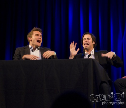 March 14: @JoeyRichter and @BrantCox at the Joe Moses One Man Showses in LA © 2012 Corrine Tom