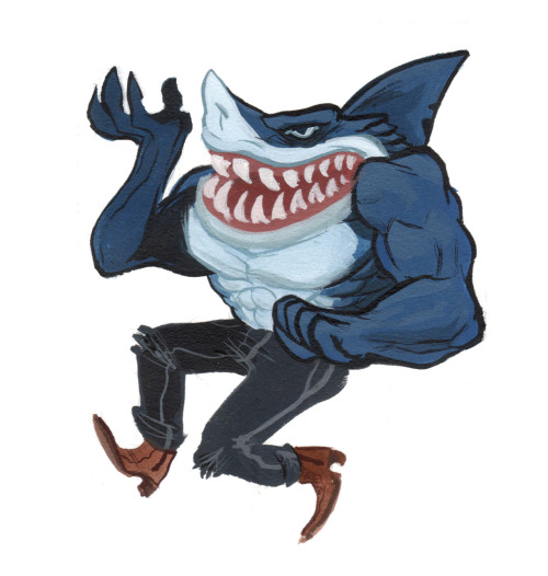 my 100th post is a street shark!
