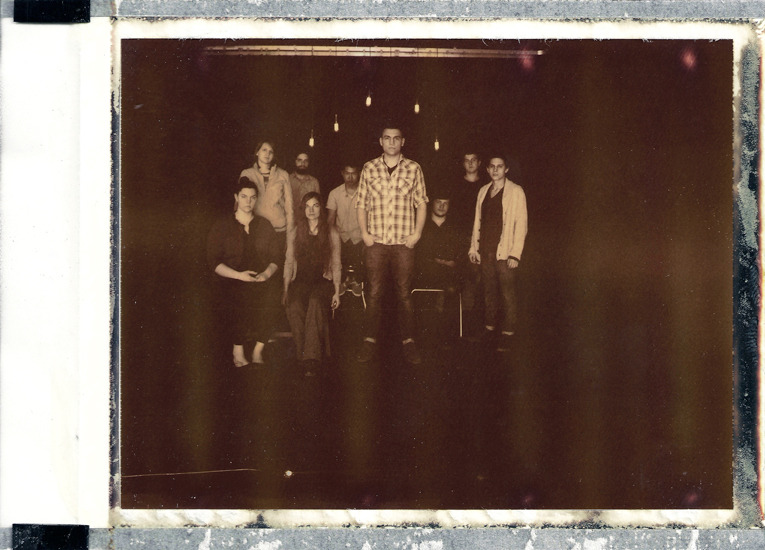 My favorite worship band at Mars Hill Church Ballard.  http://marshill.bandcamp.com/album/asaphs-arrows  King's Kaleidoscope Seattle, February 2012. Hasselblad 500 C/M. Polaroid Back. Chocolate Film.
